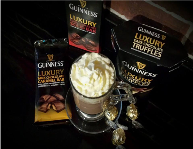 picture of guinness  hot chocoloate dublin